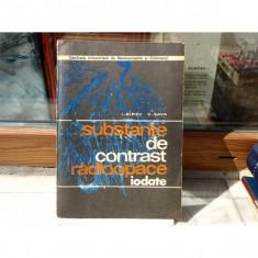 Substante de contrest radiopace , Prof. dr. doc. I. Birzu , 1973