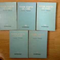 z1 Familia Thibault  - Roger Martin du Gard (5 volume)