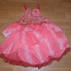 costum carnaval serbare zana rosetta pentru copii de 7-8 ani