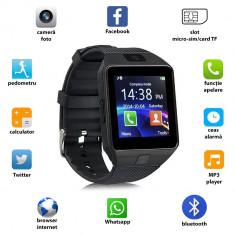 Ceas smart bluetooth 3.0, functie telefon, TF, 13 functii, Android 4.3, SoVogue