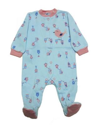 Salopeta / Pijama bebe cu desene Z36 foto