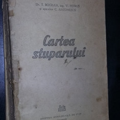 carte veche APICULTURA fara coperti,CARTEA STUPARULUI,1956,Dr.BOGDAN,T.GRATUIT