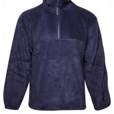 Pulover fleece cu fermoar Fence, pentru barbati, Bleumarin