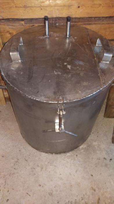 Cazan țuică - inox alimentar - capacitate 180 litri
