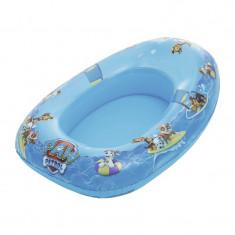 Barca gonflabila pentru copii Paw Patrol, 80 x 54 x 22 cm, 3 ani+, Albastru