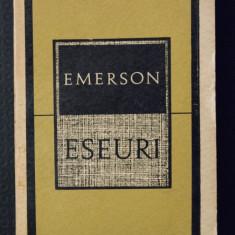 Emerson - Eseuri (traducere Leon D. Levițchi)
