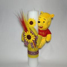 Lumanare pentru botez, 35X7 cm Disney - Winnie the Pooh