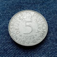 #29 Germania 5 Mark 1972 F, marci germane argint