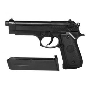 Pistol Beretta gas+bonus 1000BB 0,20gr+gaz 400ml
