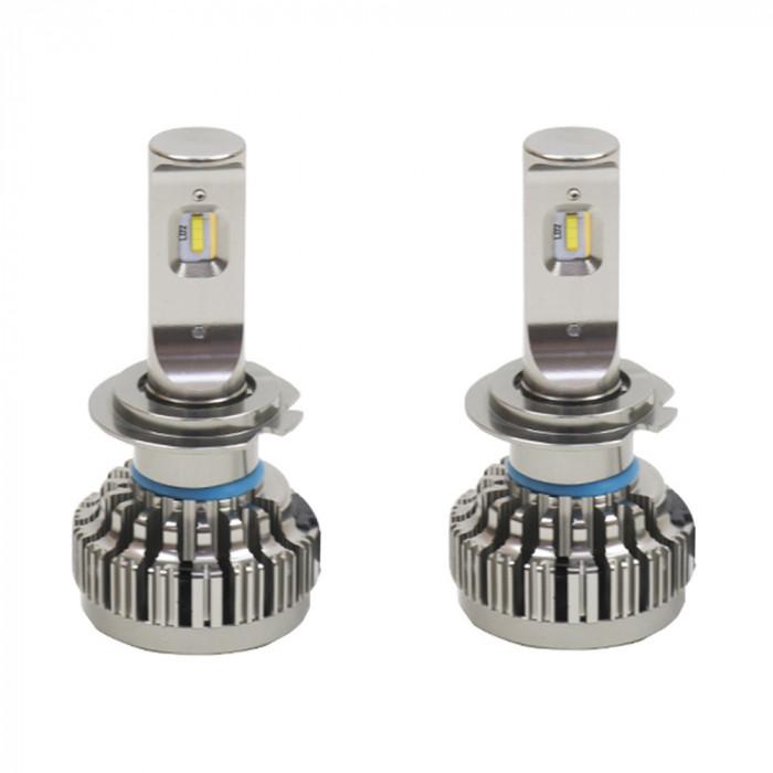 Resigilat : Instalatie LED auto PNI Clementine H7 PH 6000K 8000lm 40W, set 2 bucat