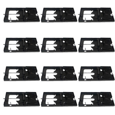 12 x Cursa mecanica pentru soareci, Capcana sobolani foto