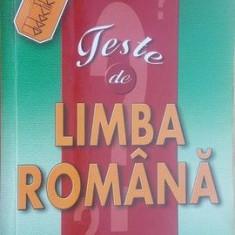 Teste de limba romana pentru admitere in invatamantul superior- Vasile Lungu