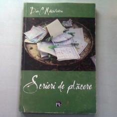 SCRIERI DE PLACERE - DAN C. MIHAILESCU