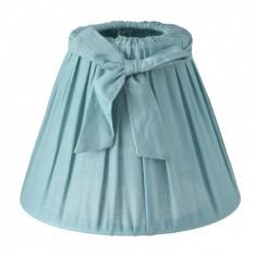 Abajur veioza textil albastru Ø 17x13 cm E27