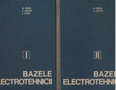 C8836 BAZELE ELECTROTEHNICII - M. PREDA, P. CRISTEA, VOL.1 SI 2 foto
