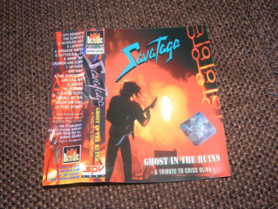 Savatage - Ghost In The Ruins (MC - Rocris Disc - VG) foto