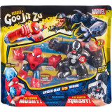 Set 2 figurine Goo Jit Zu Spiderman vs Venom
