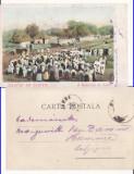 O duminica la tara -Hora -port popular,clasica, Circulata, Printata