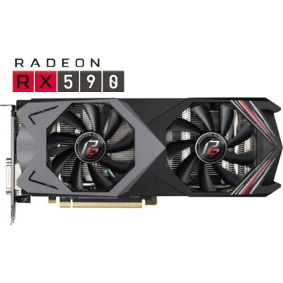 Placa video Asrock AMD Radeon RX 590 Phantom Gaming X OC 8GB GDDR5 256bit foto