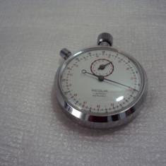 cronometru vechi mecanic REGLIA cu 7 rubine