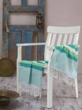 Prosop de plaja, Eponj Home, 336EPJ1314, 100 x 180 cm, Multicolor