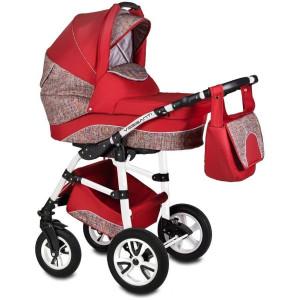 Carucior Flamingo Easy Drive 3 in 1 - Vessanti - Red