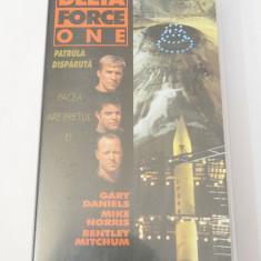 Caseta video VHS originala film tradus Ro - Delta Force One Patrula Disparuta