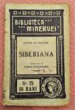 Siberiana. Biblioteca Minervei, 1910 Nr. 75 - Xavier De Maistre, Alta editura