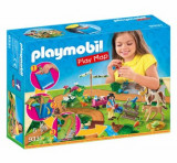 Playmobil Play Map, Plansa de joaca - plimbare cu calutii
