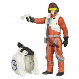 Set 2 figurine Star Wars The Force Awakens - Poe Dameron Space Mission, 9.5 cm