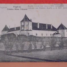 FAGARAS - CETATEA MIHAI VITEAZU - EDITATA IN 1916, MODIFICATA DUPA -NECIRCULATA