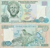 1997 ( 1 X ) , 10 pounds ( P-62a ) - Cipru