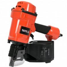 Pistol pneumatic pentru cuie lungi Yato YT-09213, domeniul 45-70 mm