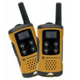 Statie Radio Portabila Motorola Walkie-Talkie PMR Emisie Receptie cu Afisaj, Raza Acoperire 4km, 8 Canale