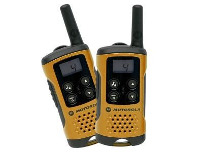 Statie Radio Portabila Motorola Walkie-Talkie PMR Emisie Receptie cu Afisaj, Raza Acoperire 4km, 8 Canale foto