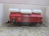 Vagon marfa transport calcar, Deutsche Reichsbahn,  scara 1/87, Fleischmann, 1:87, H0 - 1:87, Vagoane