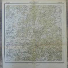 Szekely-Udvarhely// harta Serviciul Geografic Armatei 1916