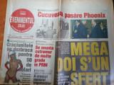 Ziarul evenimentul zilei 22 decembrie 2000-art despre mutu, catalin munteanu