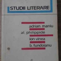 STUDII LITERARE - MIHAIL PETROVEANU