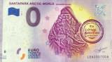 !!! 0 EURO SOUVENIR - FINLANDA , SANTAPARK ROVANIEMI , MOS CRACIUN - 2019.1- UNC