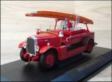 Macheta pompieri Leyland FK-1 (1934) 1:43 Yat Ming