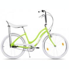 Bicicleta Pegas Strada 2 OTEL 3S 2017, Cadru 17inch, Roti 26inch, 3 Viteze (Verde)