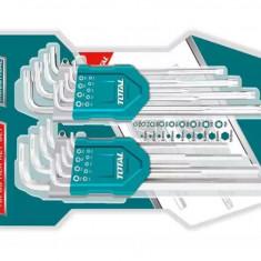 Set 18 Chei Imbus Hex-Torx -1.5-10mm - T10-T50 - Chrome Vanadium - Profesional