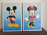 Mickey & Minnie Tablouri ulei pe pânza 60x40