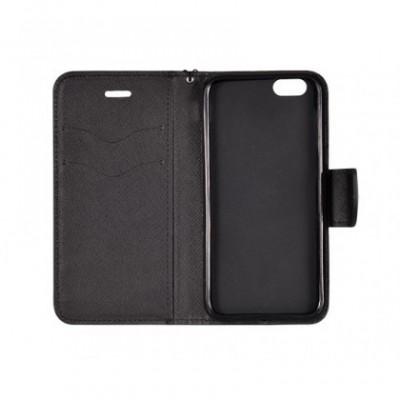 Husa Flip Fancy Samsung N950 Galaxy Note 8 Negru foto