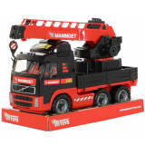 Camion cu macara - Mammoet, 49x19x31 cm, Polesie