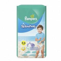 Scutece Pampers Splash 5-6 pentru apa, 14+ kg, 10 buc.
