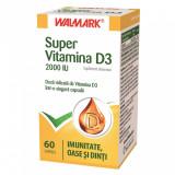 Super Vitamina D3 2000UI, 60 capsule, Walmark
