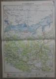 Calarasi-Silistra// harta lito 1928, M. D. Moldoveanu