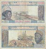 1982, 5.000 francs (P-708 Kf.2) - Senegal!
